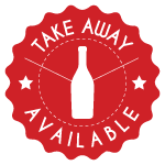 Take away wine is available
